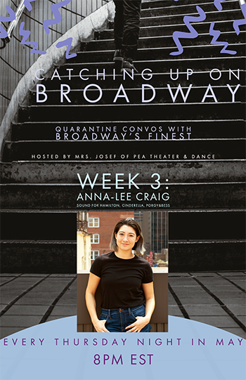 Catching up on Broadway with Anna-Lee Craig