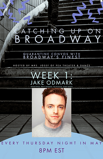 Catching up on Broadway poster with Jake Odmark