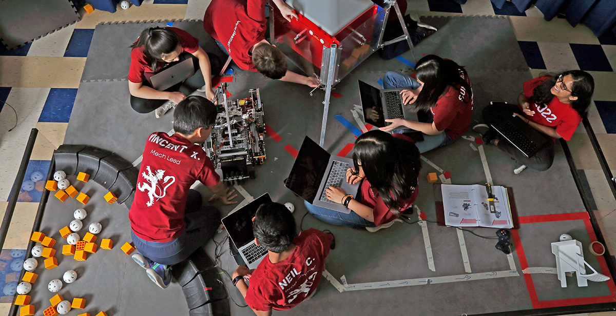 Team VERTEX earned a spot at the world championships in its first year of competition.