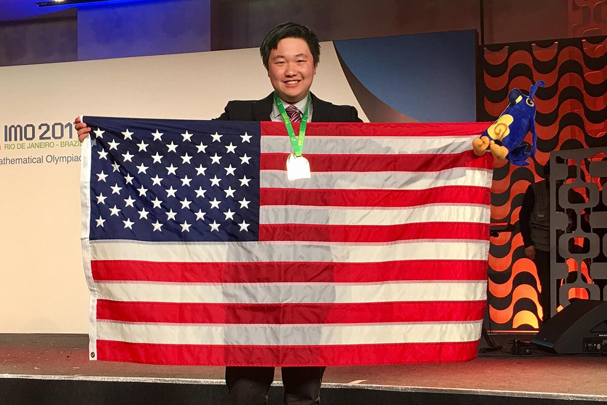 James Lin '18: Sixth in the world at international math