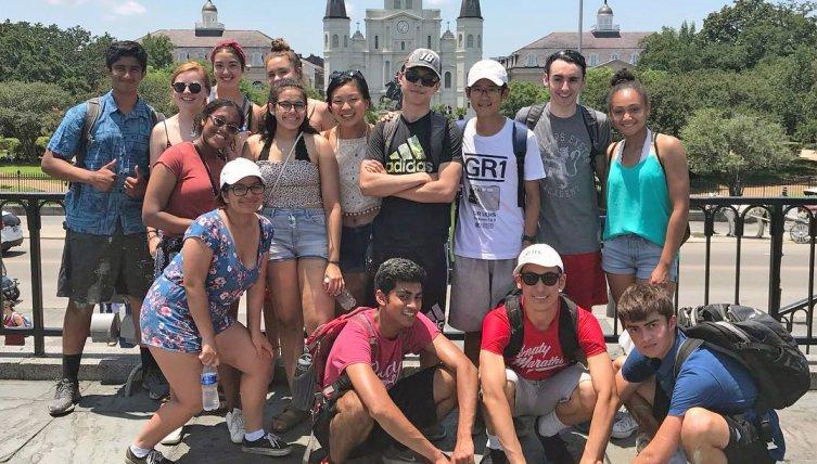 Exonians visit New Orleans.