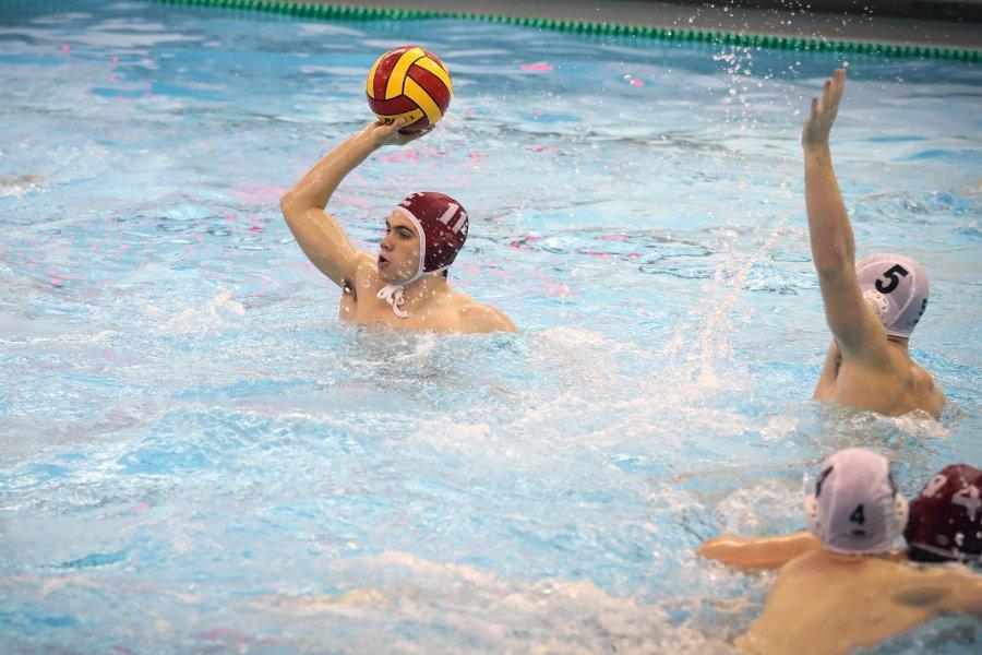 Charlie Venci playing water polo