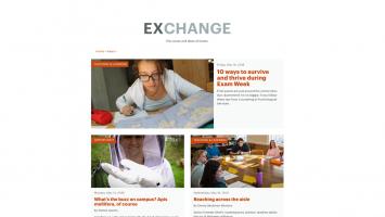 Exchange blog