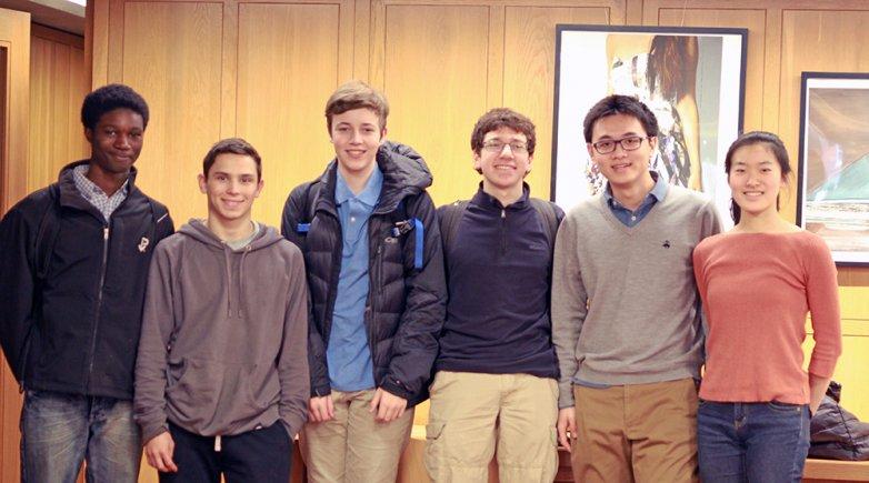 Exeter's Physics Team