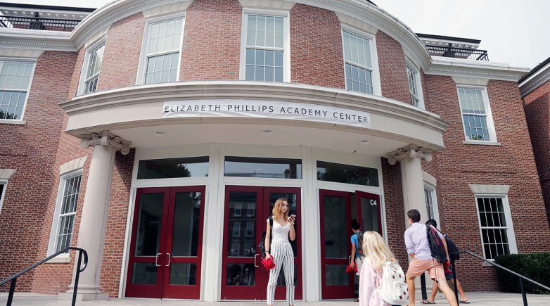 The Academy Center has been renamed for founder Elizabeth Phillips.
