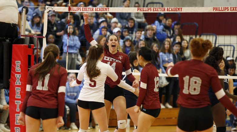 Phillips Exeter Academy Volleyball Angelle Diamond