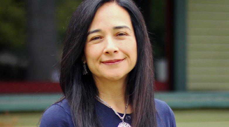 Headshot of Maria Cabildo '95.