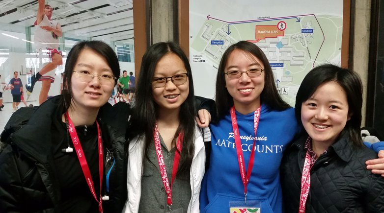 U.S. team European Girls' Mathematical Olympiad