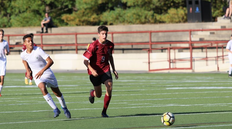 Phillips Exeter Academy Soccer Jake Gehron