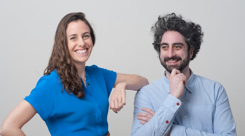 Photo of Kathy Hannun and James Quazi