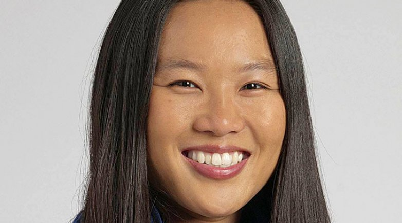 Exeter graduate Doctor Cindy Chang