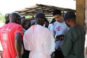 Jason in Liberia testing Highlight