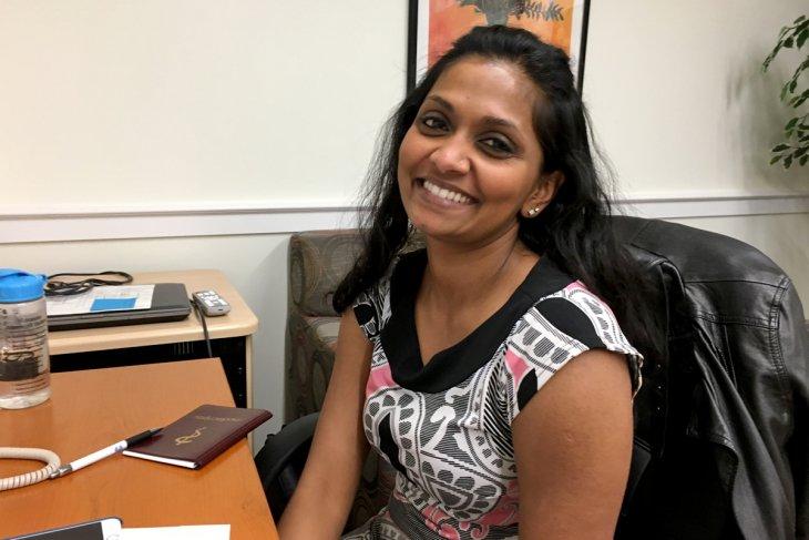 Headshot of Marina Vijayakanthan