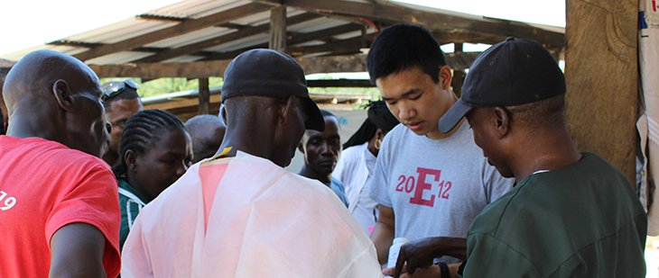 photo of Jason Kang in Liberia